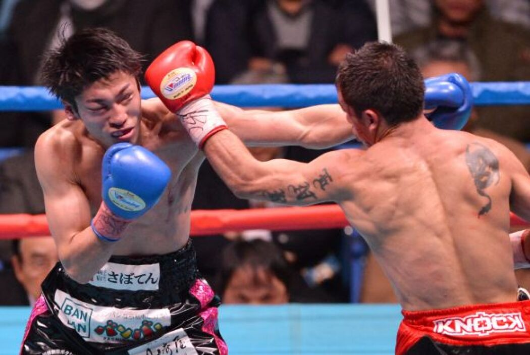 Revoco fue más que el japonés a lo largo de toda la pelea.