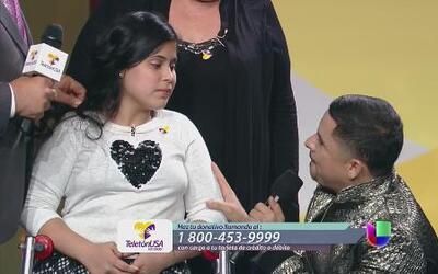 Larry Hernández rompió en llanto en Teletón USA al ver a su sobrina cami...