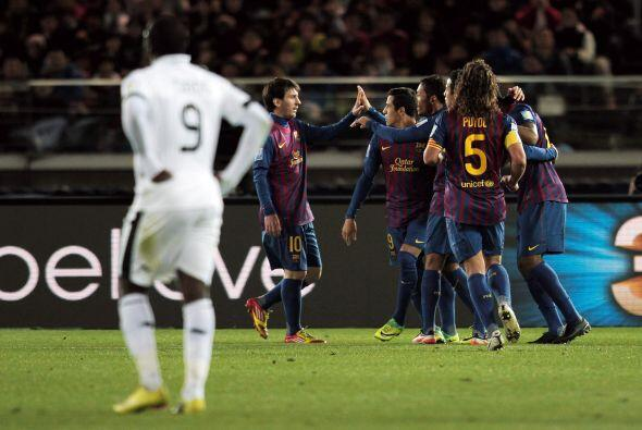 La goleada la cerró Seydou Keita con el 4 a 0 final.