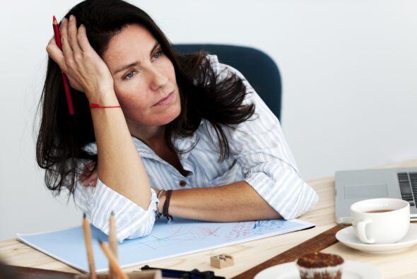 """¿Estás muy estresada? Otra causa de que la energía se """"escape"""" es el est..."""
