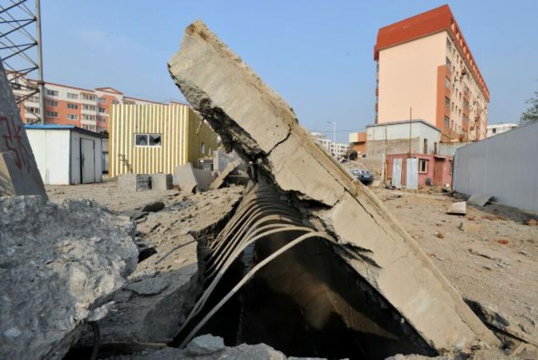 Este fue el segundo accidente industrial más mortífero en China en lo qu...
