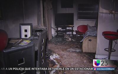Familia cubana de Florida pierde su casa por un rayo