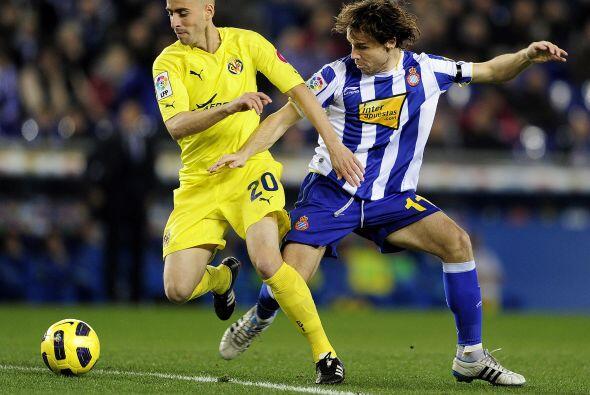 Más tarde, el Villarreal visitó al Espanyol