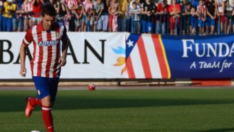 David Villa ya rinde frutos con el Atlético de Madrid.