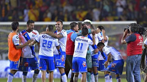 Puebla derrotó 3-2 a Morelia