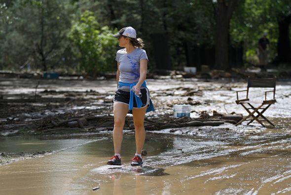 Las primeras evaluaciones indican que el agua afectó por lo menos 14 diq...