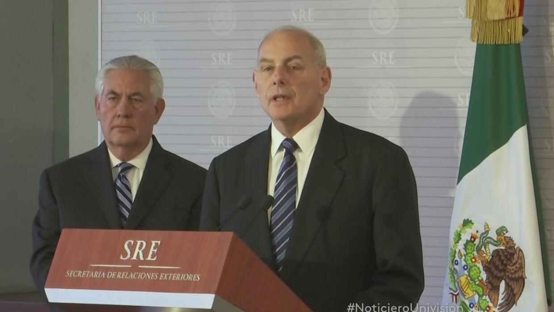 Secretario de Seguridad Nacional de EEUU dice en México que no habrá dep...