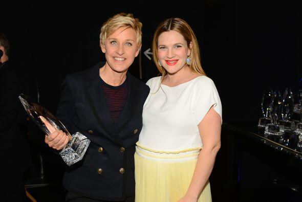 Ellen DeGeneres ganó su premio número 14. ¡El catorc...