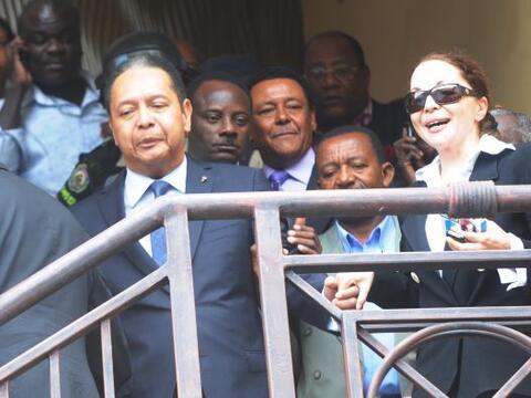 El ex dictador de Haití, Jean-Claude Duvalier, fue sacado de su h...