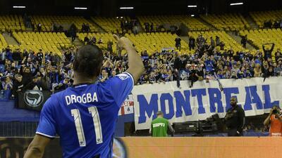 Didier Drogba jugó el miércoles su último partido en la MLS.