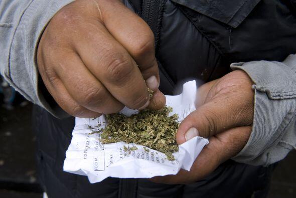 El tema de la la legalización de drogas en México ha gener...