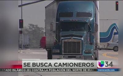 Se ha perdido el interés por el oficio de camionero