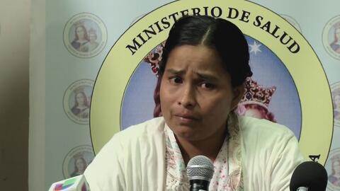 """La mujer que emergió del barro en una avalancha en Perú: """"Ya no tenía fu..."""