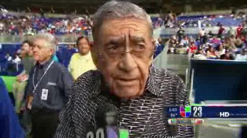 Felo Ramirez se enfrentó al comentario del entonces manager de los Miami...