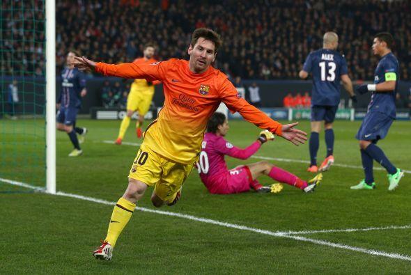 Fue el gol 60 de Messi en todas sus participaciones en Champions y el oc...