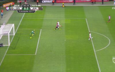 A Da Silva le volvió a salir lo 'bravo' y anoto su segundo gol de la noche