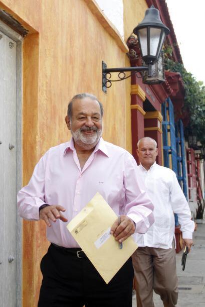 15. CARLOS SLIM DE NUEVO COMO EL MÁS RICO DEL MUNDO- Por tercer año cons...