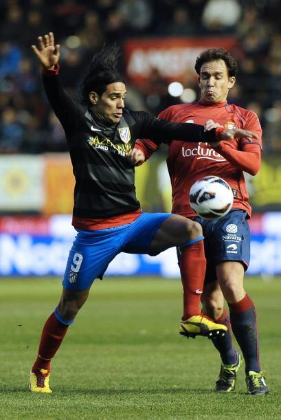Más tarde, el Atlético de Madrid estuvo en el Reyno de Navarra para enfr...