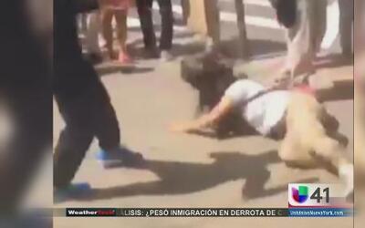 Indignación por video de golpiza a una niña