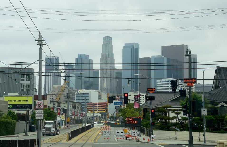 Los Ángeles y sus alrededores están en el segundo lugar, con un millón d...