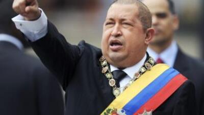 El presidente de Venezuela, Hugo Chávez.