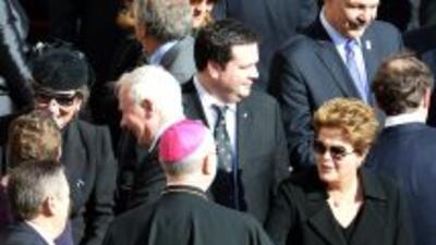 Dilma Rousseff visitó al papa Francisco.