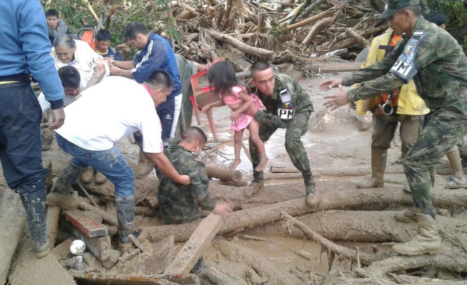 Nueva tragedia en Colombia: al menos 16 muertos por deslaves tras fuerte...