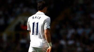 Bale mantendrá el mismo número que usaba con los 'Spurs'.