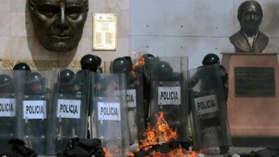 Protestas en Chilpancingo, Guerrero, México