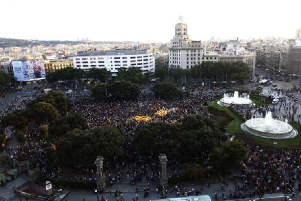 Diarios españoles informaron que las protestas fueron convocadas por aso...