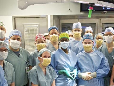 La medicina ha obtenido un nuevo éxito: un transplante de rostro...