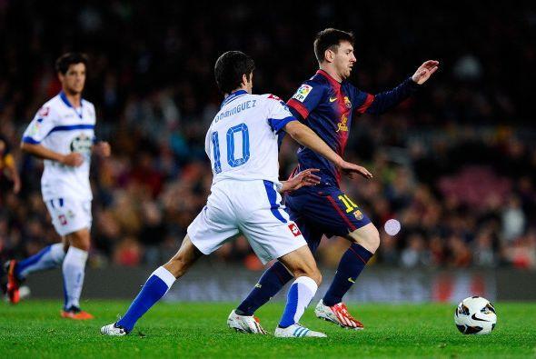Messi no vive su mejor momento, pero sigue rompiendo récords.