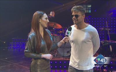 Ricky Martin, contento con fanáticos de SA
