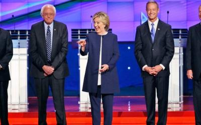 debate candidatos democratas dl bs
