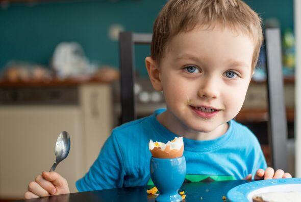 El huevo es una excelente opción para un desayuno balanceado cont...
