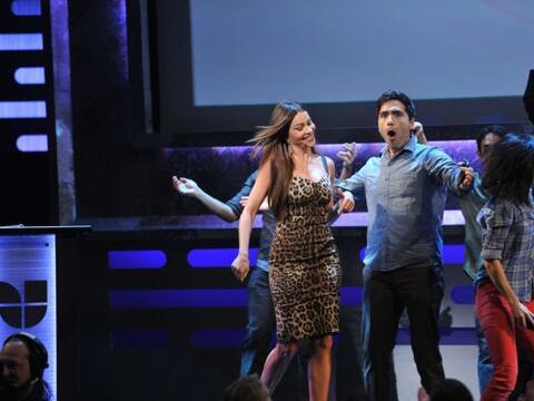 Sofía Vergara llegó como toda una diva al 2012 Univision U...