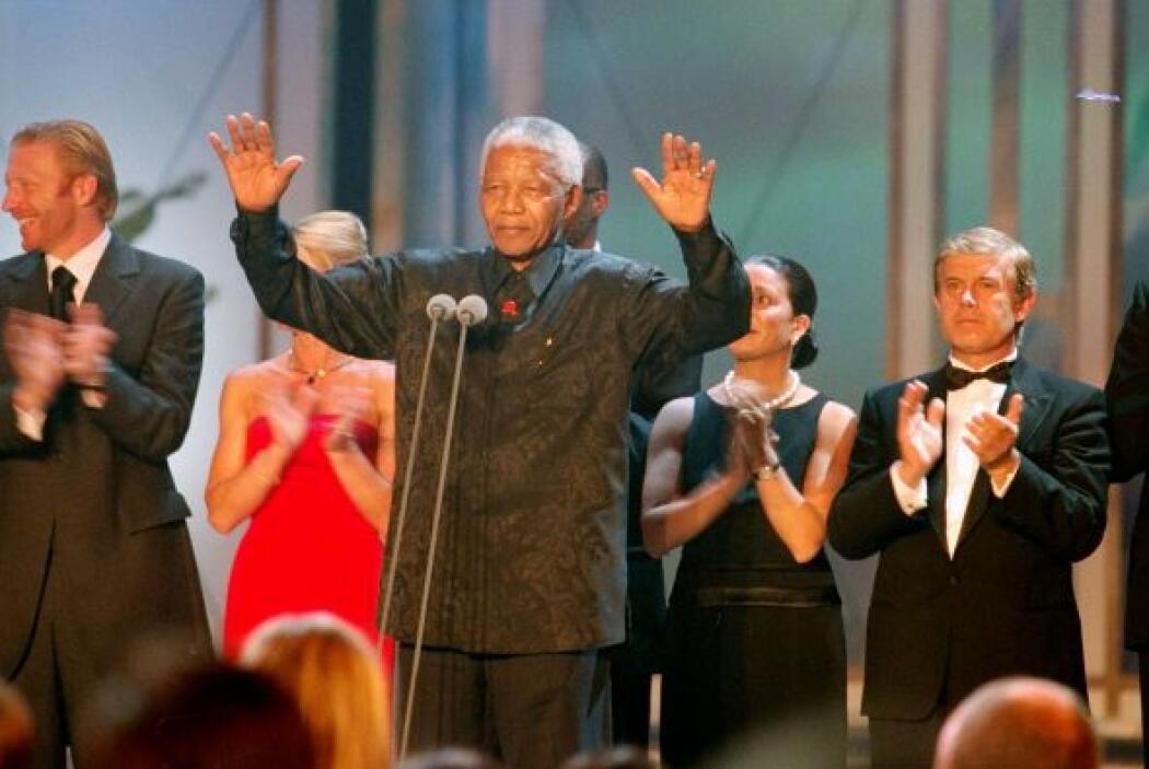 11 de julio de 2010: Última aparición pública de Mandela, con motivo de...