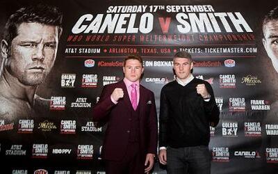 Canelo y Smith
