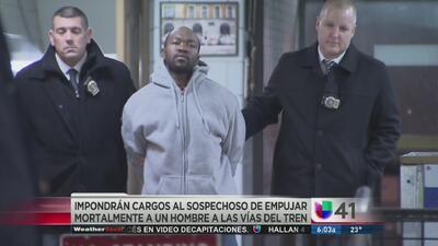 Arrestan a sospechoso de empujar a hombre en el metro