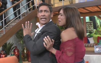 En los comerciales: El notición es que Francisca se va a hacer novelas y...