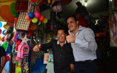 Cuauhtémoc Blanco es el alcalde de Cuernavaca Morelos.