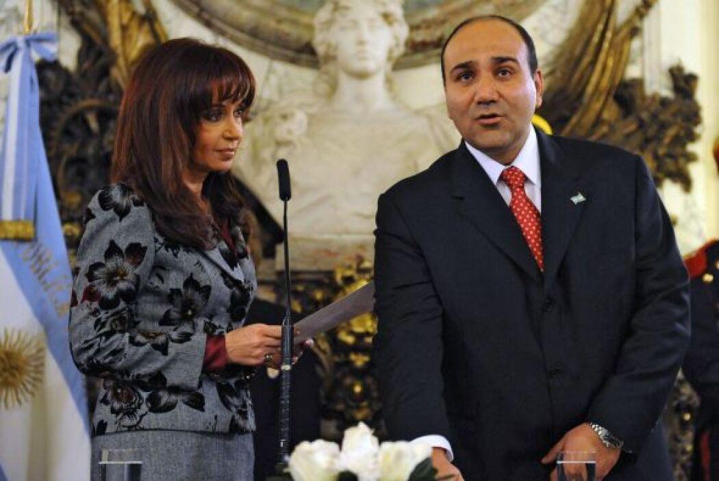 Juan Manzur, ministro argentino de Salud, advirtió que 'dado que las alt...