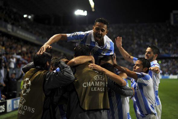 Ese gol bastó para el Málaga, que con el resultado a su favor se quedó c...