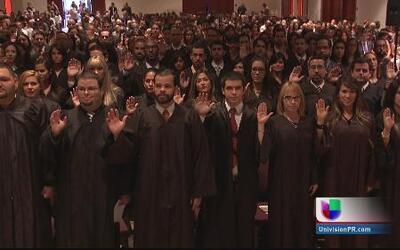 Juramentan 175 nuevos abogados en Puerto Rico