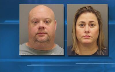 John y Giorgiana Tufts fueron arrestados bajo cargos de abuso sexual y f...