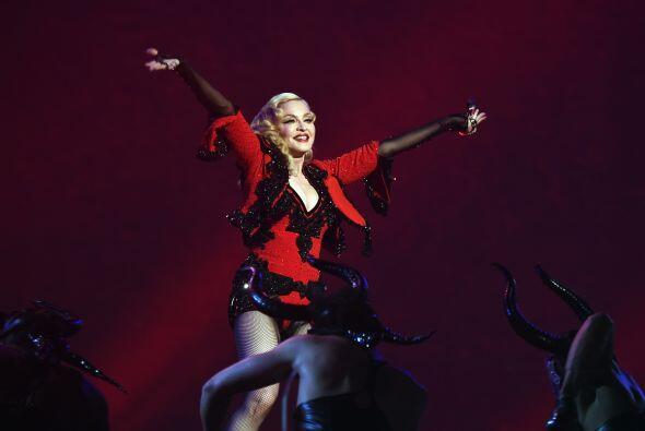 A sus 56 años, Madonna se dejó ver espectacular.