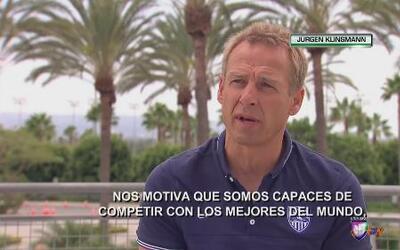 """Jürgen Klinsmann: """"Somos capaces de competirle a cualquiera en el mundo"""""""