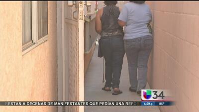 Inmigrante invidente luchó tras sufrir violación