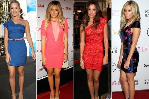 La ex estrella de Disney ha mostrado diferentes looks con los cuales se...