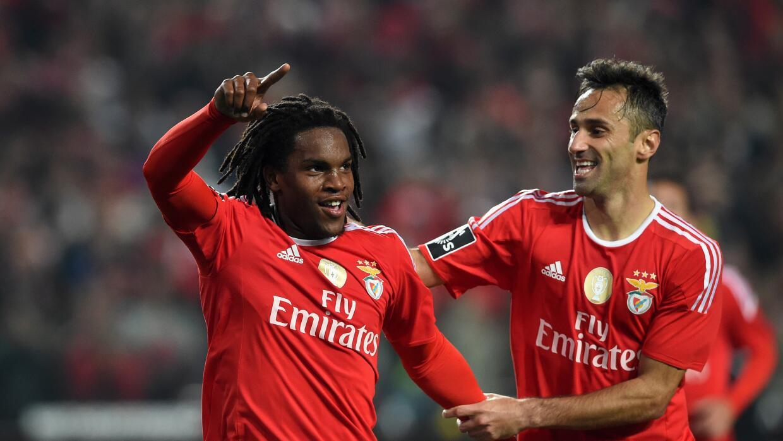 Renato Sanches y Jonas marcaron los goles del Benfica